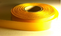 15mm grosgrain sunflower