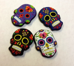 candy skulls soft magnets